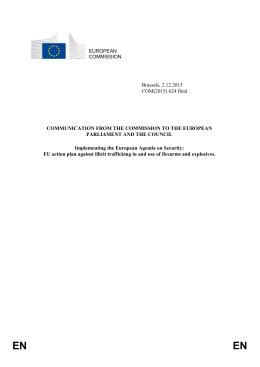 European agenda on security