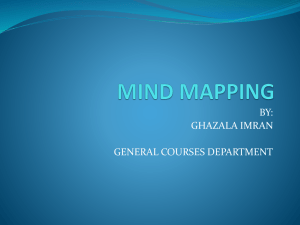 mind mapping - approachable