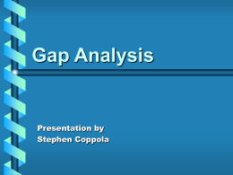 Gap Analysis - FreeQuality