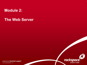 02-WAS The Web Server