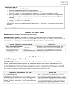 Handout 5 - Strong Teaching Tasks