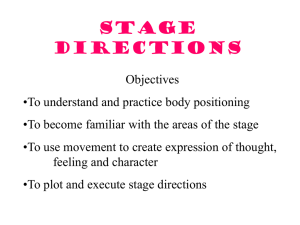 Chapter 6 Stage Directions