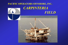 AAPG Presentation - Pacific Operators Offshore LLC