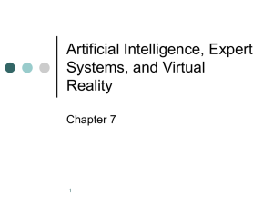 Specialized Business Information Systems: Artificial Intelligence