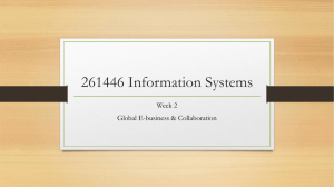 261446 Information Systems