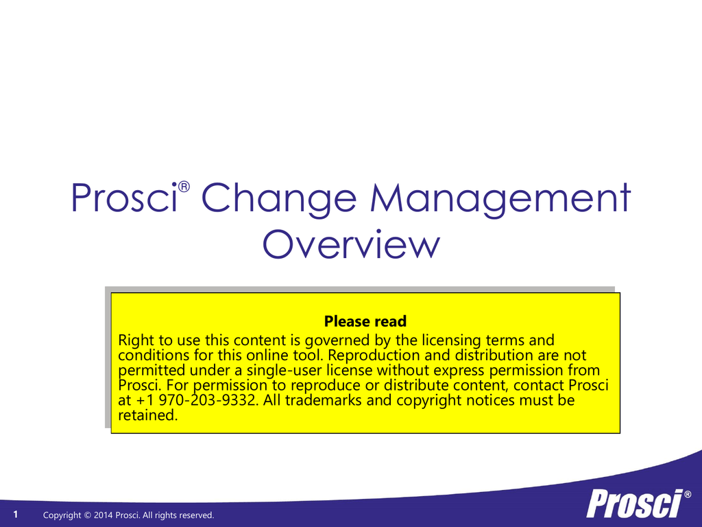 Prosci-CM-Overview - Change Management Learning Center