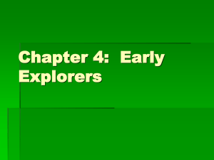 Chapter 4 Explorers ppt