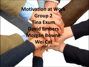 MGMT Motivation Project