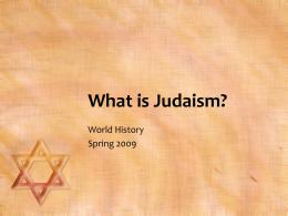 29 Judaism Powerpoint