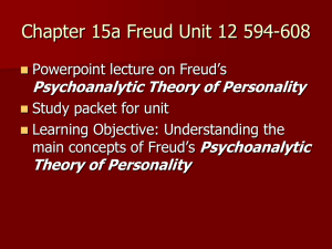 Freud's Psychodynamic Theory