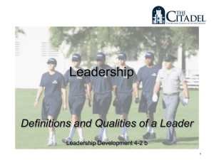 LD 4-2b Leadership