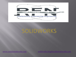 SolidWorks - Rockfortnetworks
