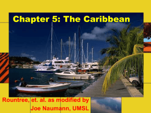 Chapter 5 - the Caribbean