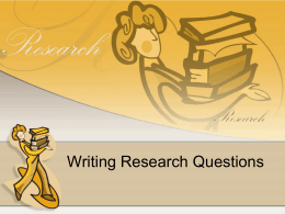 week 3 Research Qs