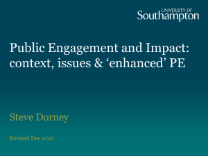 Concordat for Engaging the Public with Research