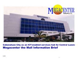 Megacenter Info Brief