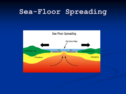 Plate tectonics webquest northside college prep high school for 10 facts about sea floor spreading