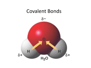 Covalent Bonds ppt