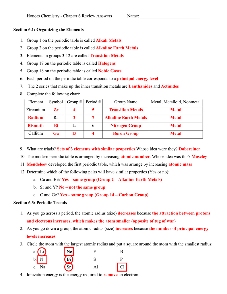 Chapter 6 review answers urtaz