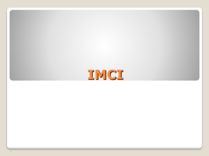 IMCI Preservice in Nursing and Midwifery Education