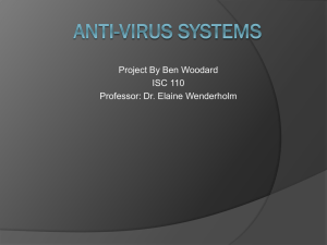 Anti-Virus Systems