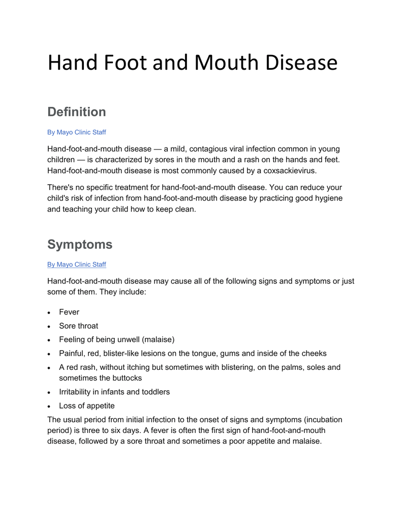 a brief summary of fmd hoof and mouth disease Foot and mouth disease in sub-saharan africa moves over short distances wild buffalo a problem date: october 22, 2013 source: american society for microbiology.