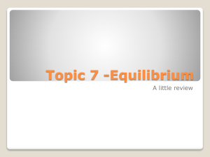 7 Equilibrium Review PowerPoint