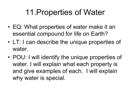 11.Properties of Water Videos - stoffregen