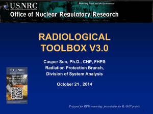 a PDF version of Radiological Toolbox Training Documents