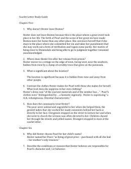scarlet letter study guide 5 15