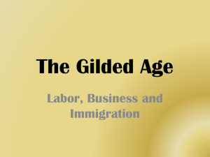 1880-1920 labor business immigration