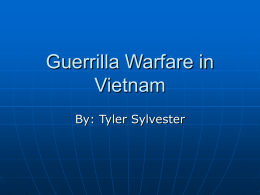 Guerrilla Warfare in Vietnam