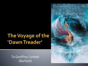 The Voyage of the 'Dawn Treader'