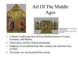 Art Middle Ages