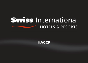 haccp - Swiss International Hotels and Resorts