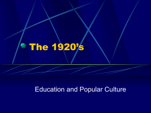 The_1920s_Education_and_Pop_Culture