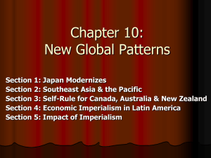 Chapter 26: New Global Patterns