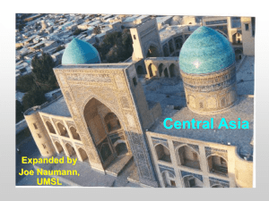Chapter 10: Central Asia