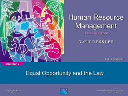 Human Resource Management 11e.