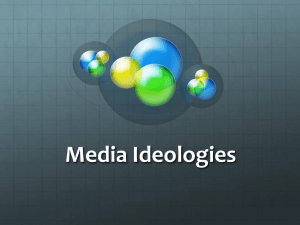 Media Ideologies - Gordon State College