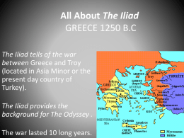 influence of iliad to heroes in The foremost influence on virgil was homer, the greek poet who composed the iliad and the odyssey the two heroes sail the same seas.
