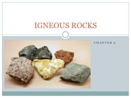 igneous rocks - Science with Ms. Reathaford!