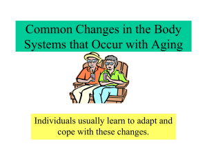 Body System Changes