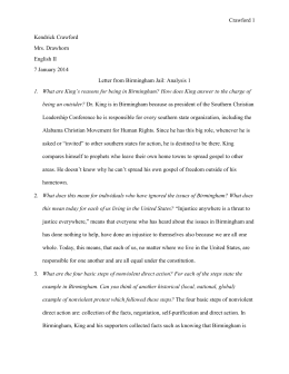letter from birmingham jail analysis letter from birmingham analysis questions doc 39855