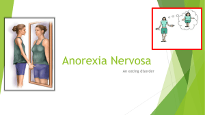 Anorexia Nervosa - Strategies for Achieving Health & Wellness 8