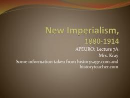 ap us history imperialism essay