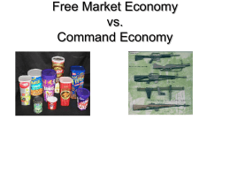 freemarket vs command