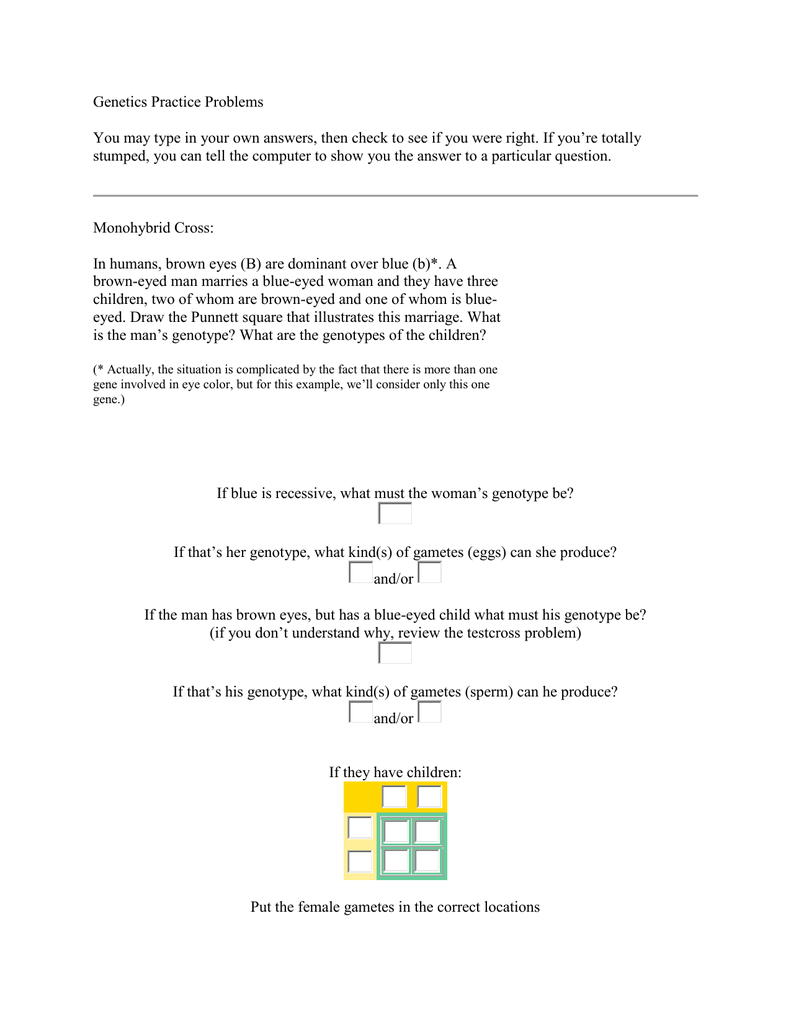 worksheet Genetics Practice Problems Simple Worksheet 009998245 1 6581c9a1ad09d9a302ee079f28986540 png
