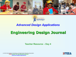 Presentation 4.1 Engineering Design Journal