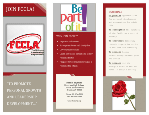 join fccla today!!!